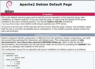 เทคนิคการติดตั้ง Apache server บน Raspberry Pi
